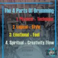 The Four Parts Of Drumming – A New Understanding To Help You Improve Faster